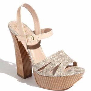 Vince Camuto VC-Miner Stacked Heel S8